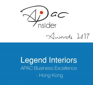 Legend Interiors APAC Business Excellence